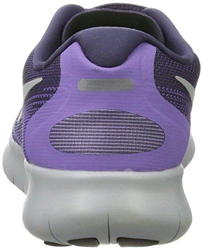 Nike Free Run 2017, Scarpe Running Donna Viola (Dk Raisin/pure Platinum-purple Earth-hyp)