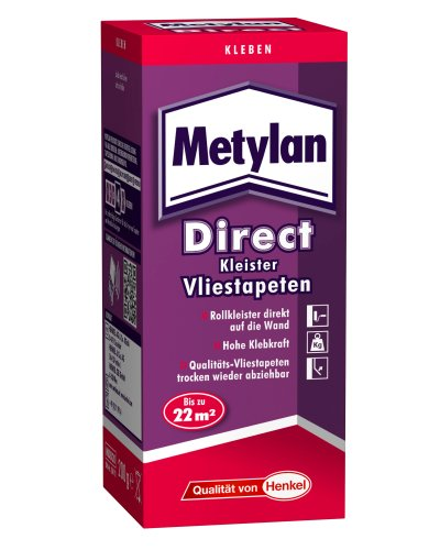 Preisvergleich Produktbild Metylan Direct Kleister für Vliestapeten / Rollkleister / 200 g / MDD20