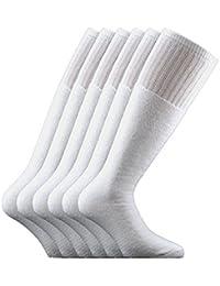 Fontana Calze, 6 paia di calze LUNGHE sportive in cotone spugna