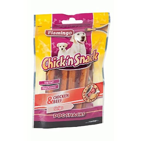 Flamingo Chick'n Beef Snack - Poulet Et Boeuf - 85G - 12U