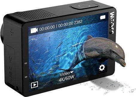 "SJCAM SJ8 Air 1296P WiFi Sports Action Camera 2.33"" Retina Ips Display - Black Full Set Instant Camera(Black) 4"