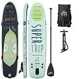 AQUA MARINA, SUPER TRIP+CARBON-Paddle+LEASH, Paddle Board, SUP, 330x75x15 cm
