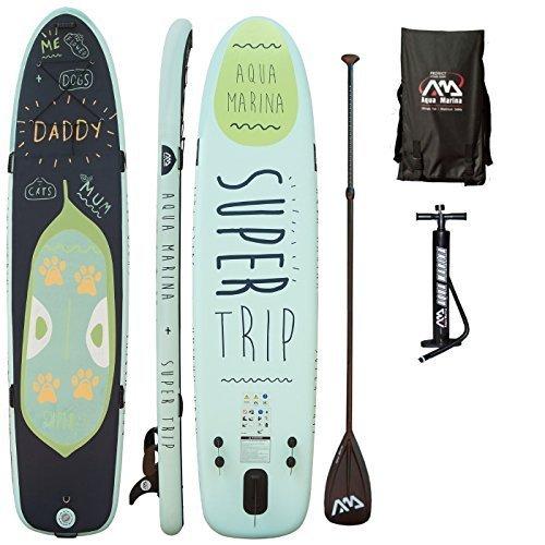 Aqua Marina, SUPER Trip+Carbon-Paddle+Leash, Paddle Boa… | 04260472531822