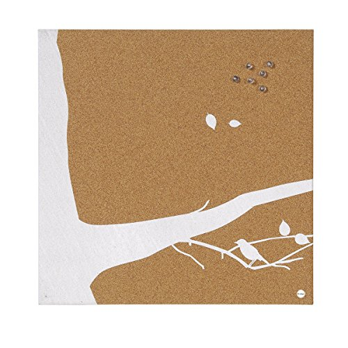 Bi-Silque SF751269397 Swallow Notiztafel, rahmenlos, Kork