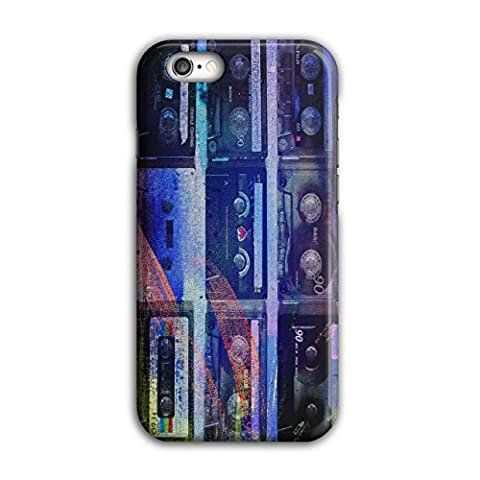 Kassette Drucken Kunst Musik Musik Entwurf iPhone 6 / 6S Hülle | Wellcoda