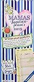 Mamas Familienplaner 2019 - Familientermine / Familientimer (21 x 45) - mit Ferienterminen - 5 Spalten - Wandplaner