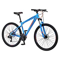 Mongoose 27.5 inch Torment Hd Mountain Bicycle, Blue