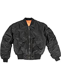 Mil-Tec MA-1 Flight Jacket Black