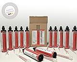 Química injektions Mortero viniléster estireno libre 12x 300ml fabricado en Alemania Incluye estática mezclador