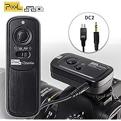 PIXEL Télécommande sans Fil Déclencheur RW-221/DC2 Câble de déclenchement pour Nikon Caméra