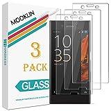 [Pack de 3] MOOKLIN Verre Trempé Sony Xperia XZ, [ANTI RAYURES] Film Protection écran en Verre trempé pour Sony Xperia XZ