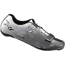 SHIMANO SHRC7OC440SW00 - Zapatillas Ciclismo, 44, Blanco, Hombre