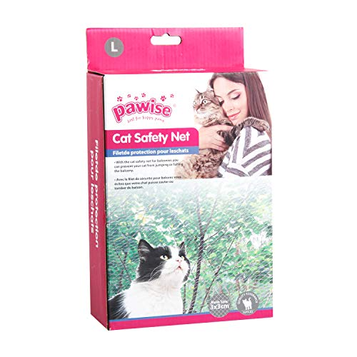 Pawise Filet de Protection pour Chat Transparent (600 x...