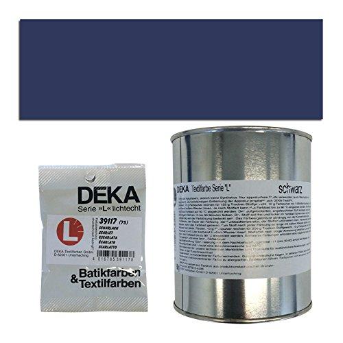 Preisvergleich Produktbild NEU DEKA-Textilfarbe Serie L, 500g, Marineblau