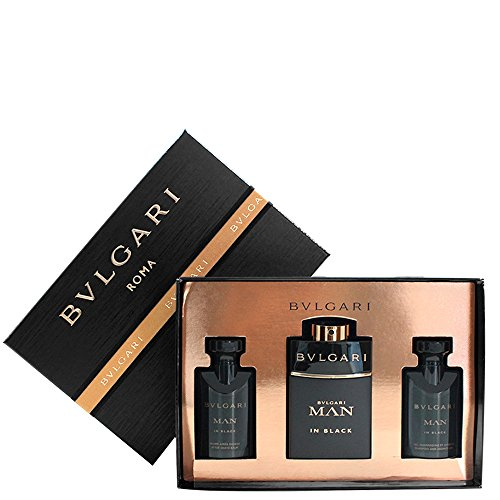 Bulgari In Black - Cofanetto con Dopobarba 40 ml + Eau de Parfum 60 ml + Schampoo e Bagnoschiuma 40 ml per Uomo