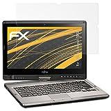 atFolix Panzerfolie kompatibel mit Fujitsu Lifebook T902 Schutzfolie, entspiegelnde und stoßdämpfende FX Folie (2X)
