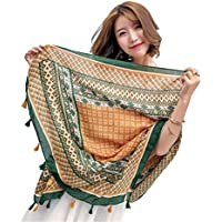 Bufanda de Playa para Mujer, Fascigirl Abrigo de La Bufanda de Moda TartáN Chal Protector Solar