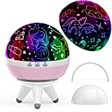 Girls Gifts for 1-10 Years Old, Unicorn Princess Projector,Romantic Gift for her,Birthday Gifts Age 1 2 3 4 5 6 7,8 Modes Colorful Projector Lamp Night Light,Christmas Gift