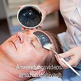 Natürliches Mittel gegen Pickel, Akne, unreine Haut – Behandlungsset: SIVASH-Heilerde-Gesichtsmaske 250g + Heilerde-Naturseife 100g + Mineral Gesichtscreme mit Rügener Heilkreide 50ml. Besonders für fettige, sensible oder Mischhaut geeignet - 5