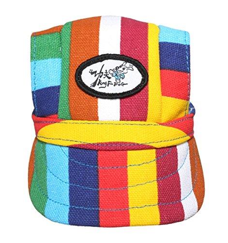 Stripe Dog Baseball Cap Hat 2