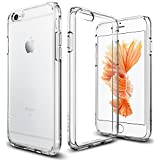 iPhone 6 / 6S Case, Spigen® [Ultra Hybrid] AIR CUSHION [Crystal Clear] Clear back panel + TPU bumper for iPhone 6 / 6S - Crystal Clear (SGP11598