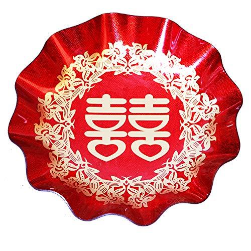 che Hochzeit, Party Plastic Plate ()