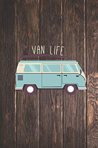 Van Life - Surfer Beach Ocean Waves Surf - Journal
