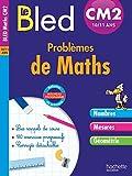 Cahier Bled - Problèmes De Maths Cm2...