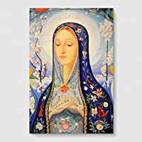 "Arty Pie ""Joseph Stella The Virgin"" Poster Print, Multi-Colour, A3/42x29.7 cm/16.5x11.7-Inch preiswert"