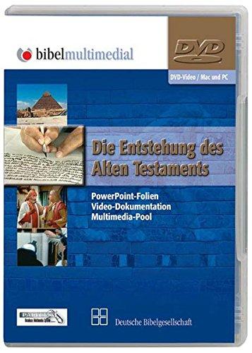 Preisvergleich Produktbild Die Entstehung des Alten Testaments,  1 DVD-ROMPowerPoint-Folien,  Video-Dokumentation,  Multimedia-Pool. Für Windows und Mac