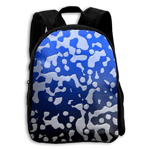 ADGBag Children's Milk Drop Backpack Schoolbag Shoulders Bag for Kids Kinder Rucksack -