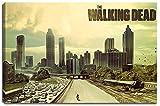 The Walking Dead Motiv auf Leinwand im Format: 120x80 cm. Hochwertiger Kunstdruck als Wandbild. Billiger als ein Ölbild! ACHTUNG KEIN Poster oder Plakat!