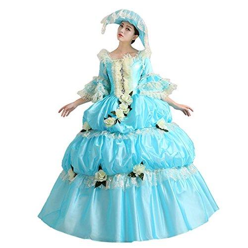 Partiss - Robe - Femme X-Large Bleu ciel