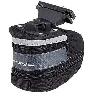 M-Wave Tilburg MTB Camera Bag Titular, Adulto Unissex, Preto, L