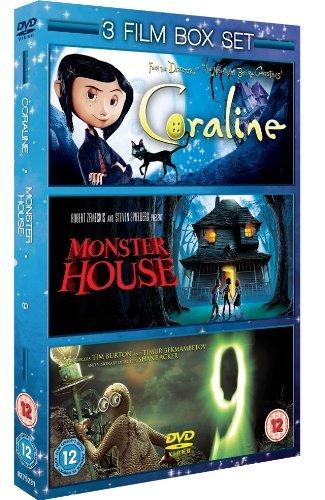 Coraline / Monster House / 9 [DVD]