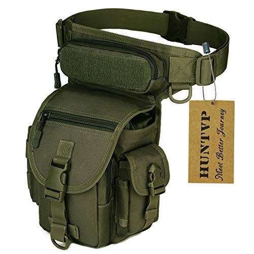 Huntvp Bolsa Táctical Bolsa Pierna Multifuncional