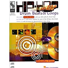 Hip-Hop And Rap Drum Beats And Loops Drums Book/Cd (Sound Library)