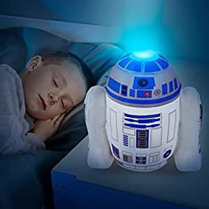 2 in 1 xl r2d2 nachtlicht pl schfigur star wars kinderlampe the clone wars darth vader. Black Bedroom Furniture Sets. Home Design Ideas