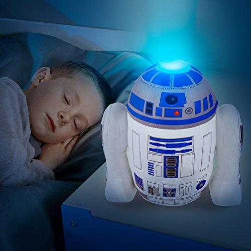 2 in 1 XL R2D2 Nachtlicht + Plüschfigur Star Wars Kinderlampe The Clone Wars Darth Vader Nachttischlampe
