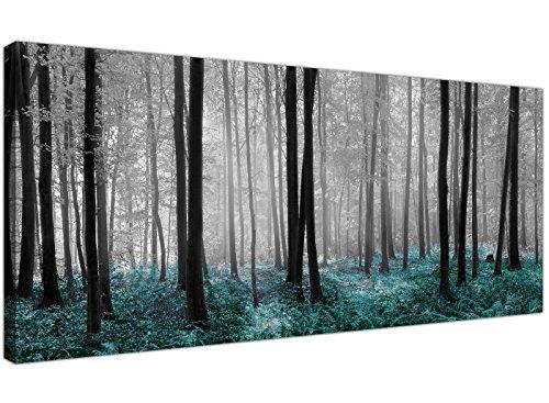 Wallfillers® - Lienzo impreso diseño bosque