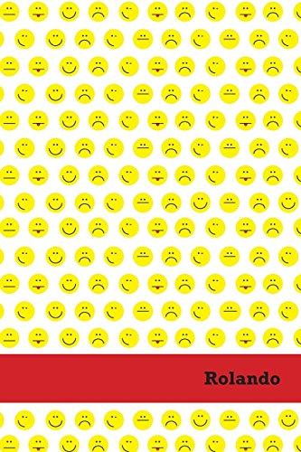 Etchbooks Rolando, Emoji, College Rule, 6 X 9', 100 Pages