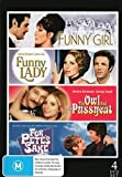 Barbra Streisand Collection: Funny Girl / Funny Lady / The Owl and the Pussycat / For Pete's Sake DVD [UK Compatible] by Barbra