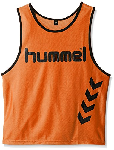 Hummel Kinder Leibchen FUNDAMENTAL TRAINING BIB, Neon Orange, S, 05-002-5179 (Trainings Leibchen)