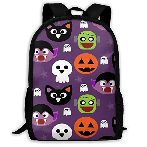 Klassischer Rucksack Cute Halloween Friends_11594 Reise-Laptop-Rucksack, Extra große College School Student Rucksack für Männer und Frauen