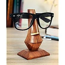 Store Indya, Palissandro a forma di naso degli occhiali Holder spettacolo elegante intagliato a mano, 9