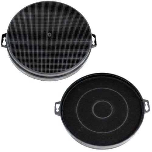 DREHFLEX - AK01-2 - 2 filtros de carbón (SPARSET) 210mm de diámetro...