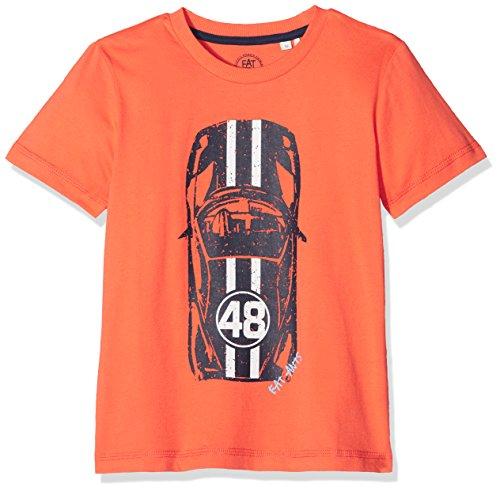 Sanetta Jungen T-Shirt 124842, Orange (Nektarine 2367), 104