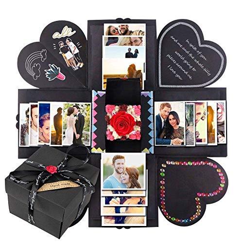 ng Box Explosions-Box DIY Faltendes Fotoalbum,Geburtstag Jahrestag Valentine Hochzeit Geschenk, für Hochzeit, Muttertag, DIY Geschenk ()