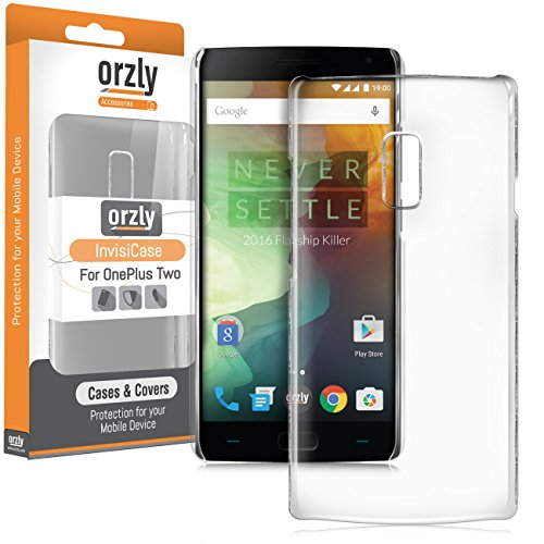Orzly® - Coque InvisiCase pour OnePlus 2 SmartPhone (ONE PLUS TWO - 2015 Dual SIM Modèle) - Coque Rigide Crystal - 100% TRANSPARENTE