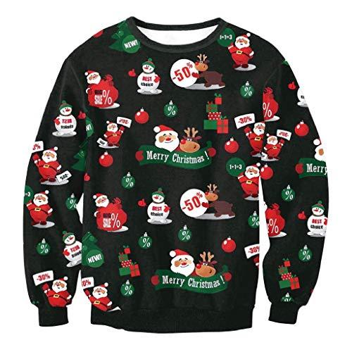 Soupliebe Liebhaber Mode Weihnachten Santa 3D Print Party -